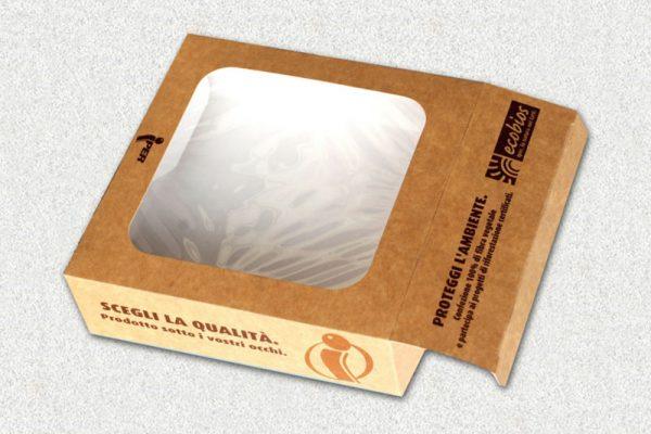 Astucci in cartone ecologico per pasticceria