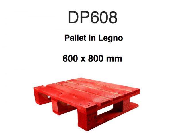 DP608 noleggio pallet per GDO