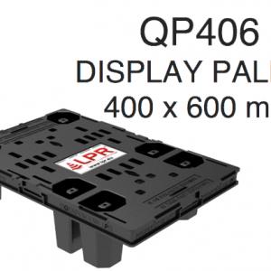 Noleggio pallet per superfici espositive QP406