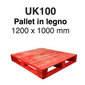 Noleggio pallet per linee automatizzate modello UK100
