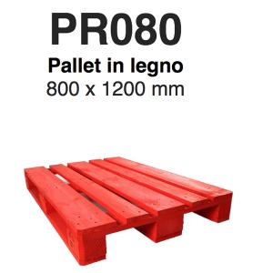 Noleggio pallet per linee automatizzate modello PR080