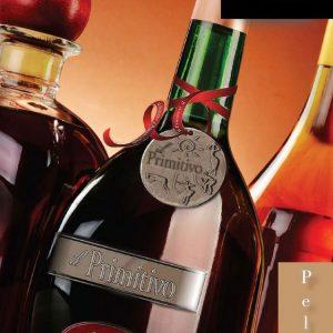 Etichette in peltro per packaging di bottiglia vino di alta qualità