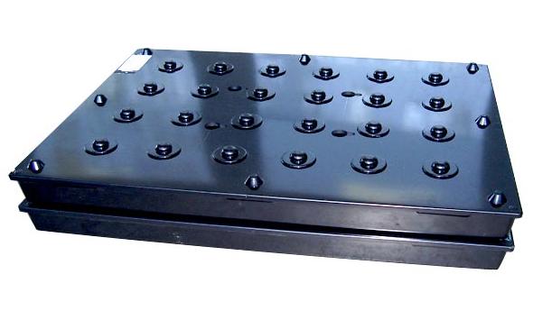 Pallet termoformato per movimentazione di precisione - Ellepack