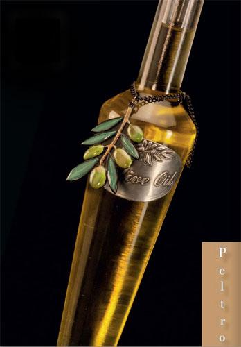 Peltrolux, produzione etichette in peltro per bottiglie