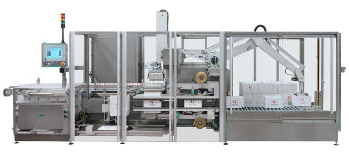 Cartopallettizzatore automatico ad introduzione verticale MCP840