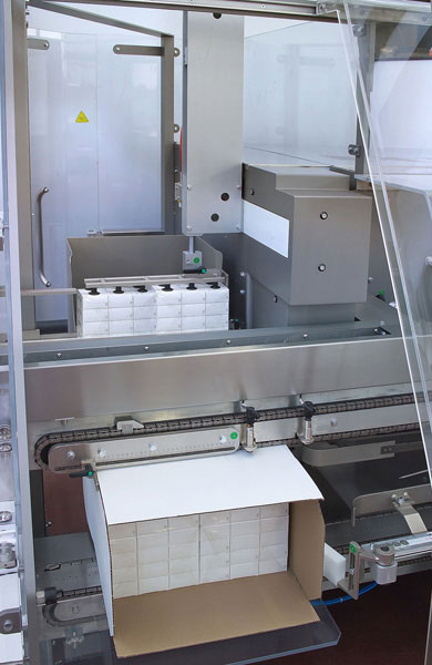incartonatrice orizzontale automatico per industria farmaceutica MC820