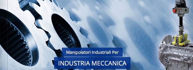 Manipolatori ergonomici per industria meccanica Scaglia Indeva
