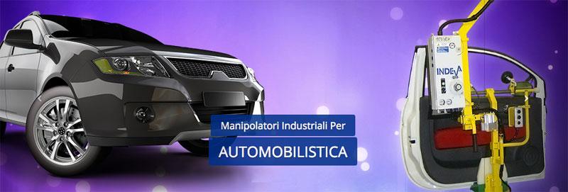 Scaglia Indeva sistemi di movimentazione per industria automobilistica