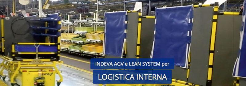 Scaglia Indeva produzione veicoli agv e sistemi modulari per movimentazione interna