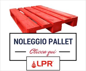 LPR, pallet rosso