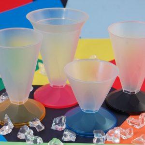 bicchieri per gelato in plastica