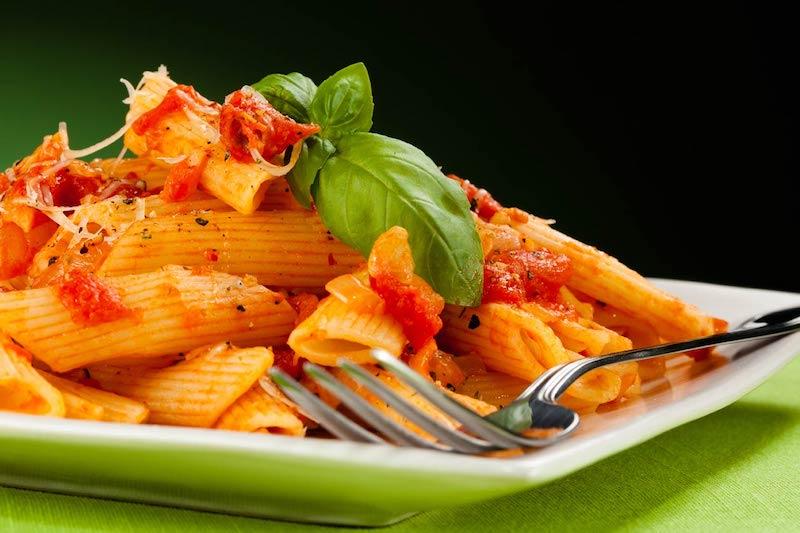 etichette di origine del grano per la pasta