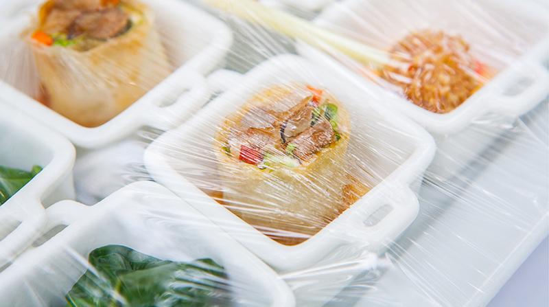 Bioplastica per alimenti