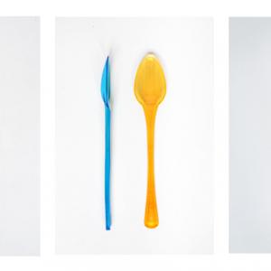 Palette per gelato e cucchiai in plastica