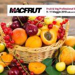 Macfrut 2018: pochi giorni ancora e si parte