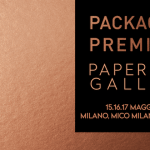 La carta per il packaging di lusso fa i conti con l'e-commerce e si fa bella con i glitter: siamo a Packaging Premiere