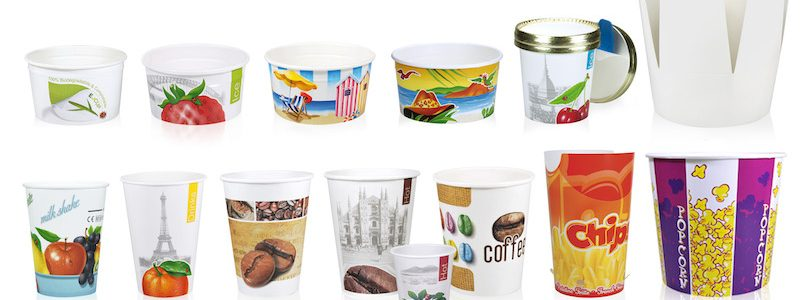 Produzione e fornitura di packaging per gelato e prodotti alimentari