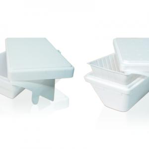 Vaschette per gelato da asporto in polistirolo