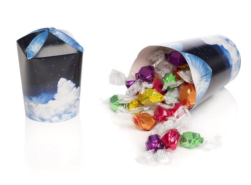contenitori in carta per caramelle