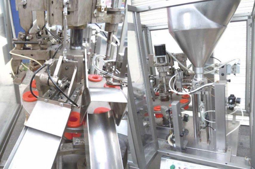 Macchina Per Lavorare Il Legno E I Metalli : Macchine intubettatrici per tubetti in plastica e metallo tgm