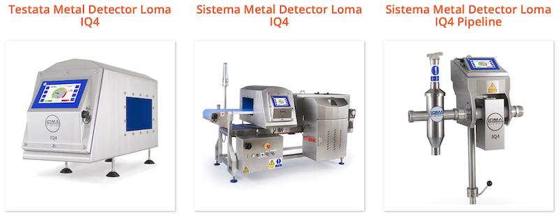 Rilevatori di metallo Nimax