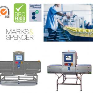 sistemi d'ispezione a raggi x per l'industria alimentare