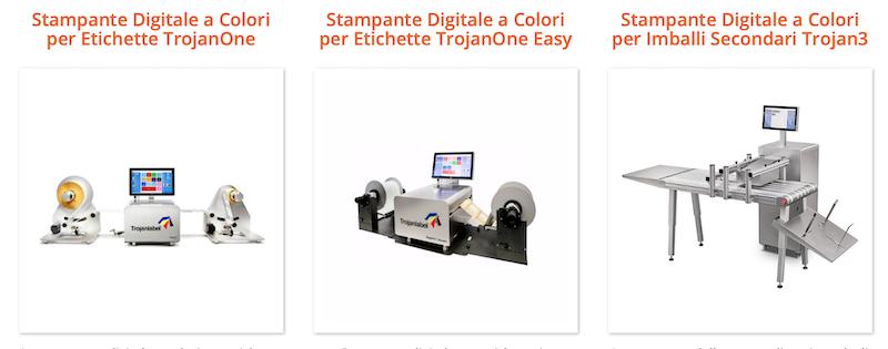 Stampanti industriali per packaging secondario ed etichette Nimax