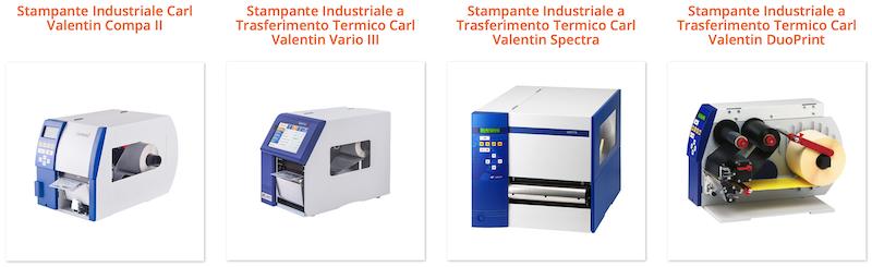 Stampanti industriali per etichette