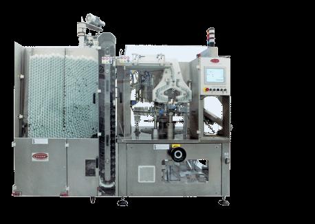 Macchine intubettatrici per prodotti coestrusi due/tre colori
