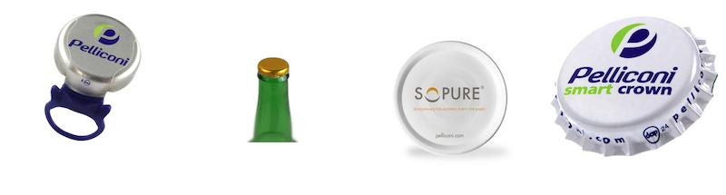 produzione tappi e capsule in metallo e plastica