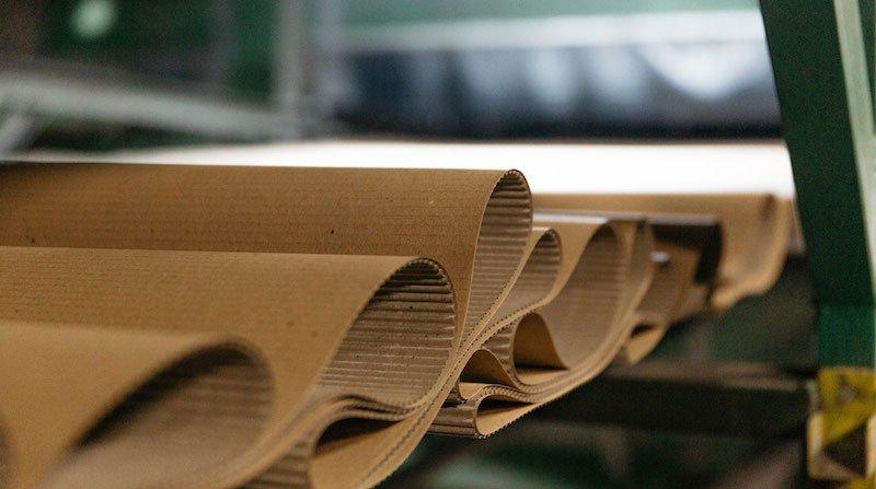 produzione di cartone ondulato