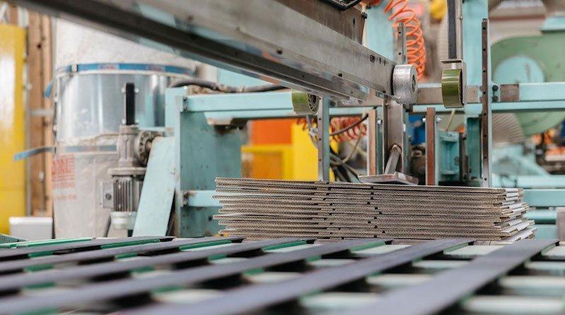 produzione di packaging in cartone ondulato