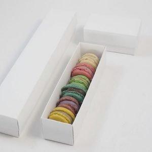 scatole per biscotti macarons