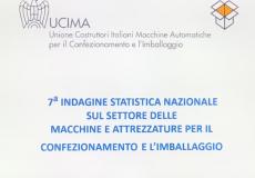 7 imndagine statistica nazionale sui costruttuori di macchine per il packaging