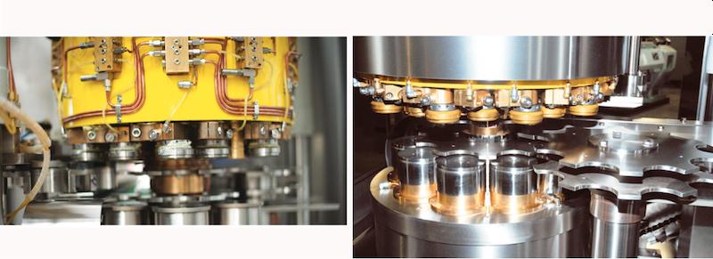 Macchine per la produzione di imballaggi mertallici
