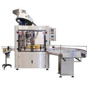 Tappatrice automatica rotativa TA per prodotti alimentari