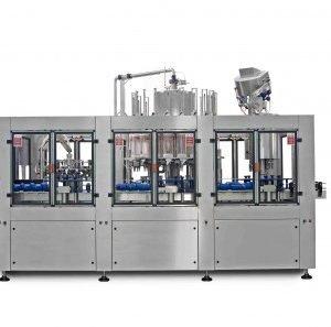 macchine riempitrici per olii alimentari triblocco automatico