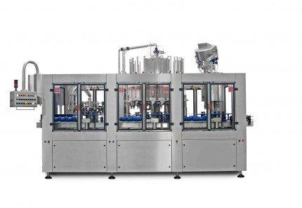 Triblocco automatico rotativo per olio alimentare-cmi