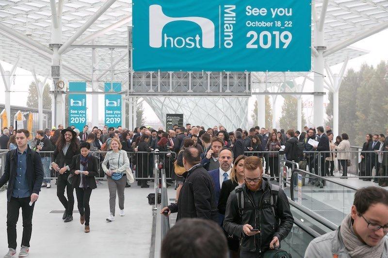 HOSTMilano 2019 Salone dell'accoglienza