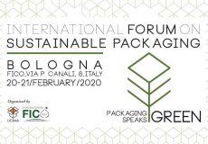 Locandina evento Packaging Speak Green