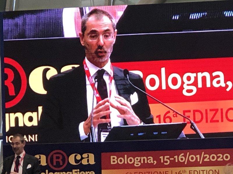 MarcabyBolognaFiere XVI edizione rapporto Ambrosetti