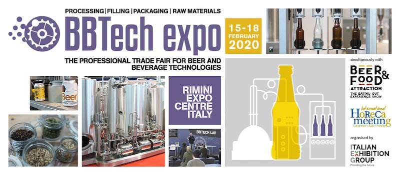 BB-Tech Expo 2020 in contemporanea con beer food attraction
