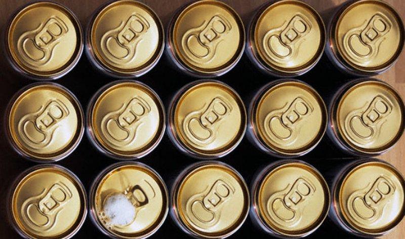 lattina di alluminio per la birra
