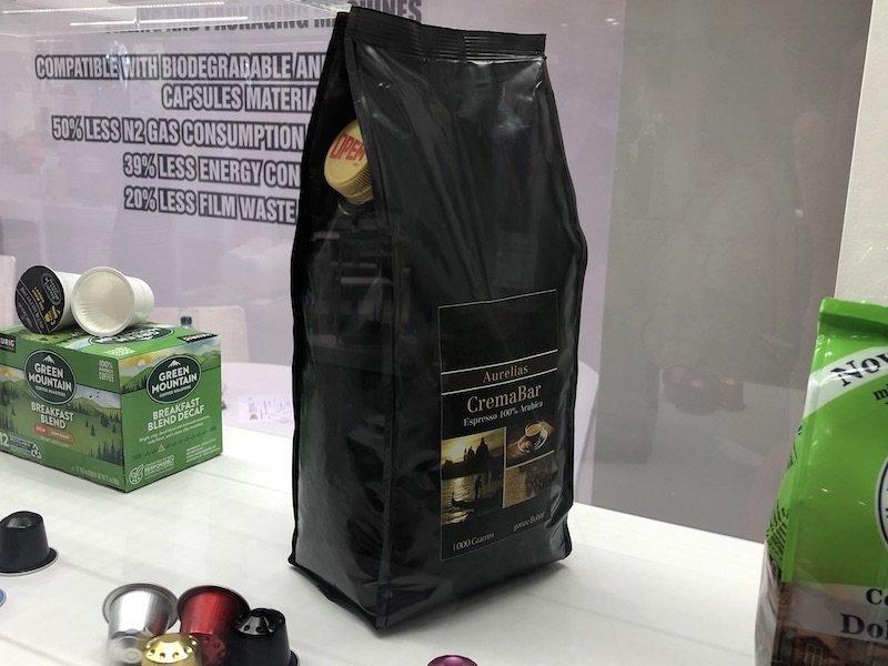 smart bag imballaggio flessibile con sistema salva aroma