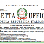 Decreto 'cura-Italia' in vigore: le misure per resistere