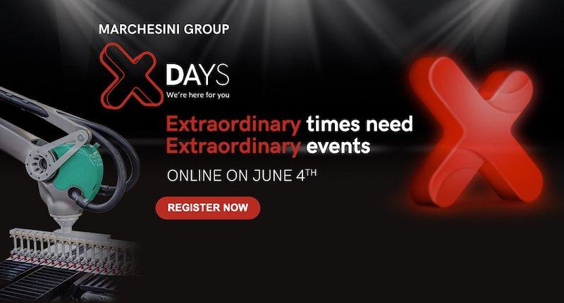 Marchesini Group gli X Days eventi on line