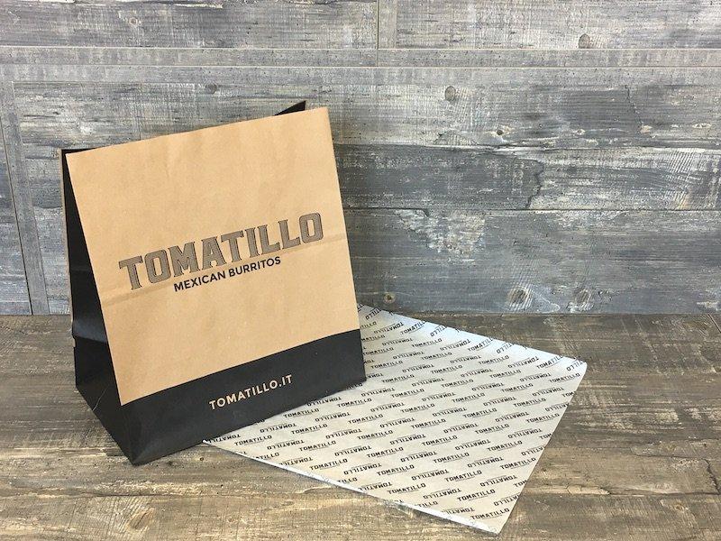 buste e carte per food and beverage personalizzabili
