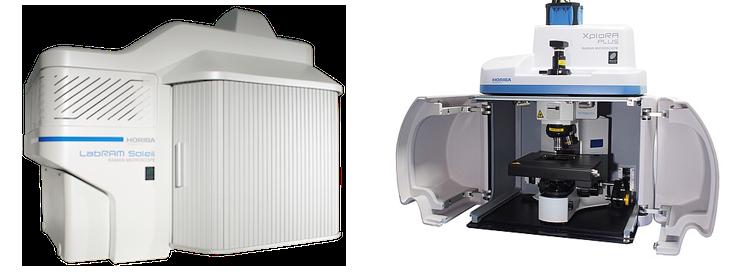 attrezzature per la spettroscopia micro raman