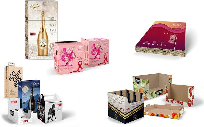 Stampa digitale su packaging in cartone