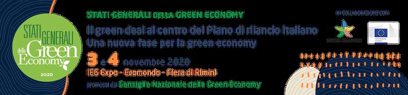 Stati Generali della Green Economy 2020 a Ecomondo